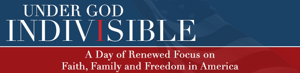 Under God INDIVISIBLE, A one day conference to equip, encourage and discuss spiritual, social and economic concerns