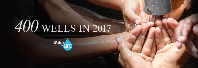 400 Wells in 2017 - Donate to Wells