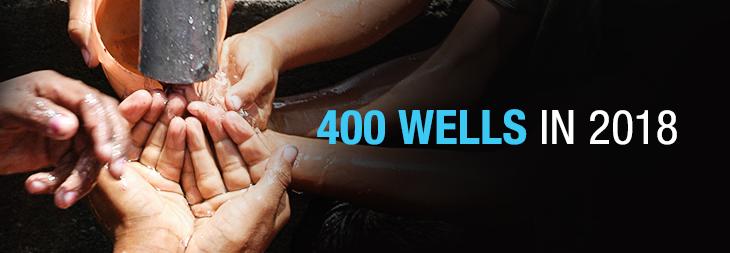 400 Wells in 2018